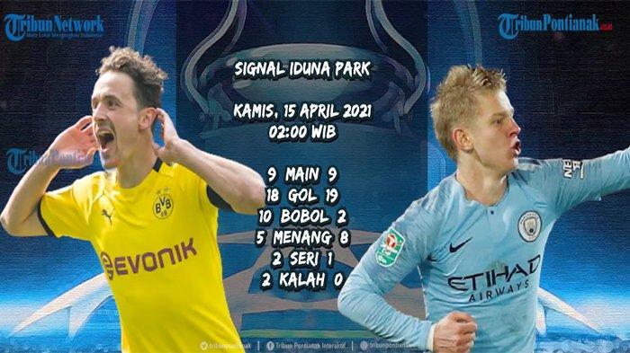 MANCHESTER City Lolos Semifinal Liga Champions atau Dortmund? Tonton di Tv Online Gratis Vidio.com