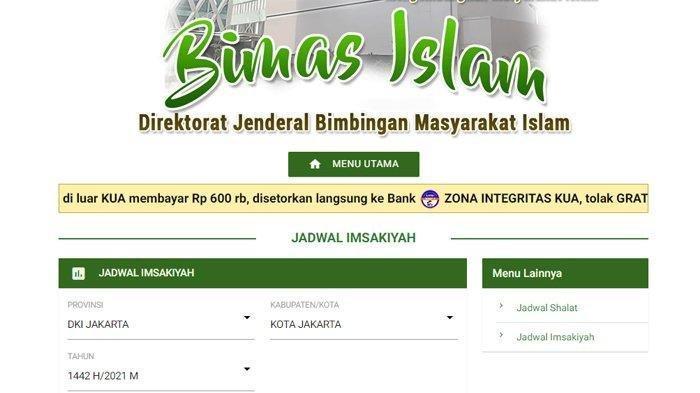 DOWNLOAD Jadwal Imsakiyah, Jadwal Imsakiyah Pontianak hingga Jadwal Imsakiyah Ramadhan 2021 Bandung
