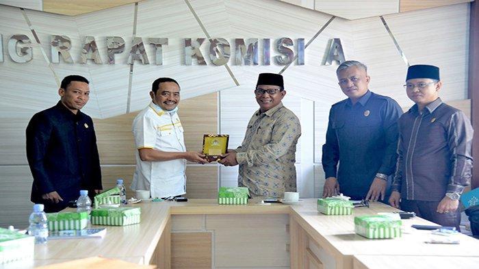 Pererat Silaturahmi dan Berkoordinasi, Ketua DPRD Ketapang Berkunjung ke DPRD Kotawaringin Barat