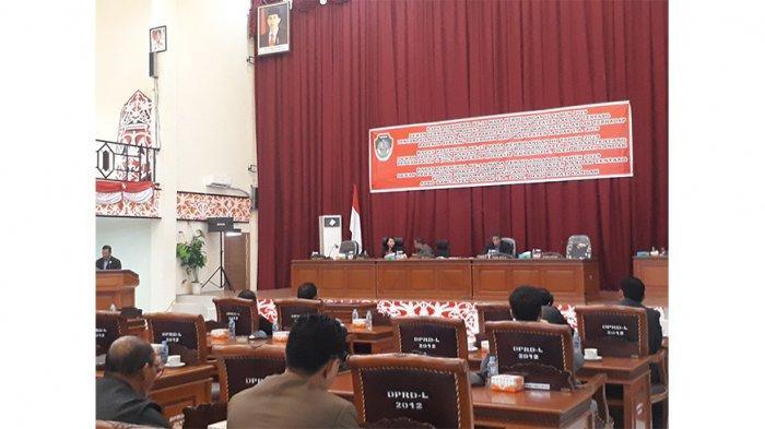 DPRD Landak Rapat Paripurna dengan Tiga Agenda