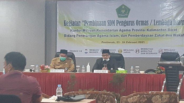 Ketua FKUB Kalbar Ismail Ruslan Minta Komitmen Ormas Islam Dukung Pemerintah Ciptakan Kerukunan