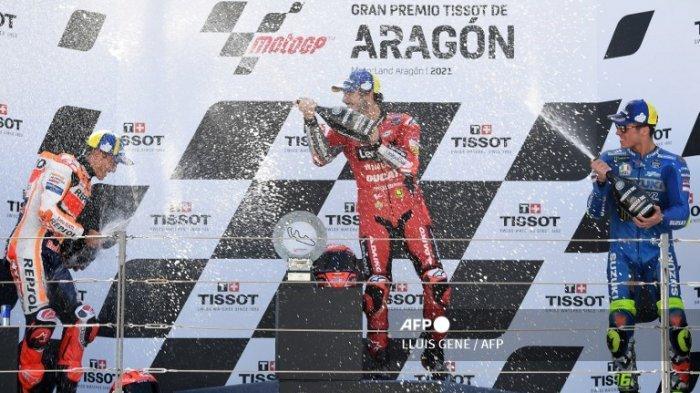 DRAMA Marquez! Murid Rossi Melesat Tempel Quartararo di Puncak Klasemen MotoGP 2021