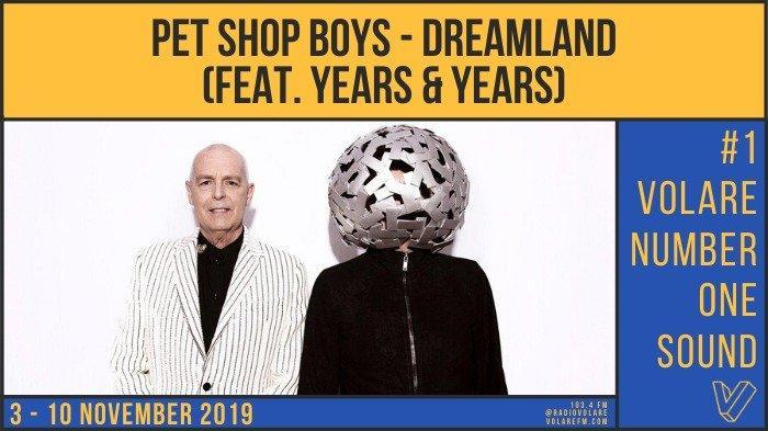 Top Ten Volare Musik Barat Pekan Ini, Dreamland by Pet Shop Boys Duduki Peringkat Pertama