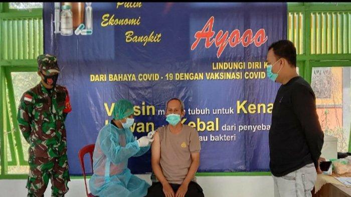 Terima Vaksinasi COVID Tahap ke II, Kapolsek Siding Imbau Masyarakat Jangan Takut Divaksin