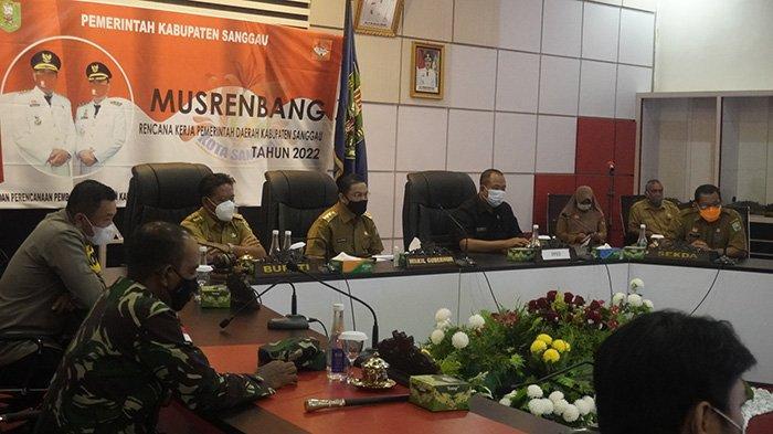 Wagub Norsan Hadiri Musrenbang RKPD Kabupaten Sanggau