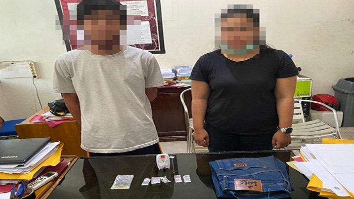 Bawa 5 Paket Narkoba Jenis Sabu, Sepasang Suami Istri di Ketapang Ditangkap Polisi
