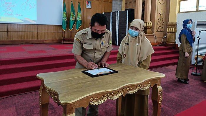BKPSDMAD Harap E-Belalek Bisa Tingkatkan Kompetisi ASN di Kabupaten Sambas