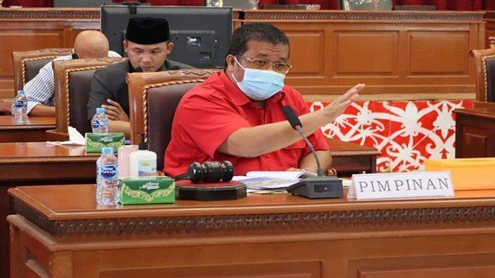 Badan Anggaran DPRD dan TAPD Landak Gelar Rapat Bahas Refocusing