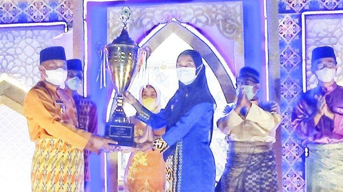 Juara Umum MTQ ke-32 Tingkat Kabupaten, Camat Mempawah Hilir Sampaikan Apresiasi
