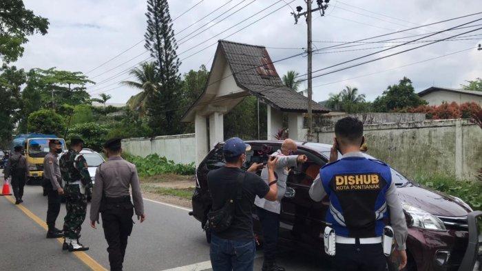 Cegah Masyarakat Mudik, Polda Kalbar Aktifkan 36 Titik Penyekatan dan Kerahkan 883 Personel Gabungan