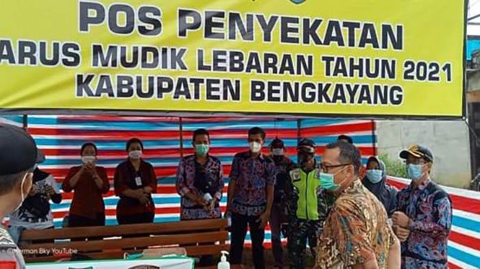 Sebastianus Darwis Tinjau Posko di 5 Kecamatan Wilayah Kabupaten Bengkayang