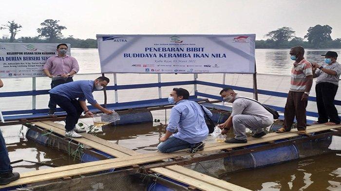 Astra Resmikan KBA Durian Berseri Sungai Raya, Tabur Bibit Budidaya Keramba Iklan Nila - dsgasgs.jpg
