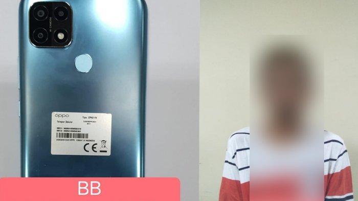 Mencuri Dua HP di Rumah Tetangga, Roni Ditangkap Polisi Saat Tidur Siang