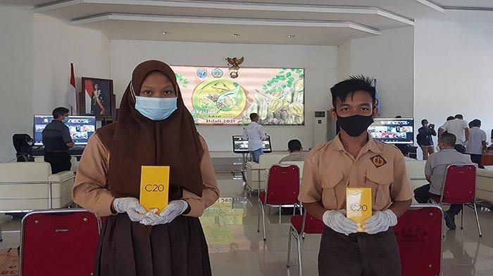 Polres Kayong Utara Salurkan Bantuan, Ketua DPRD Berikan Apresiasi dan Sambut Baik
