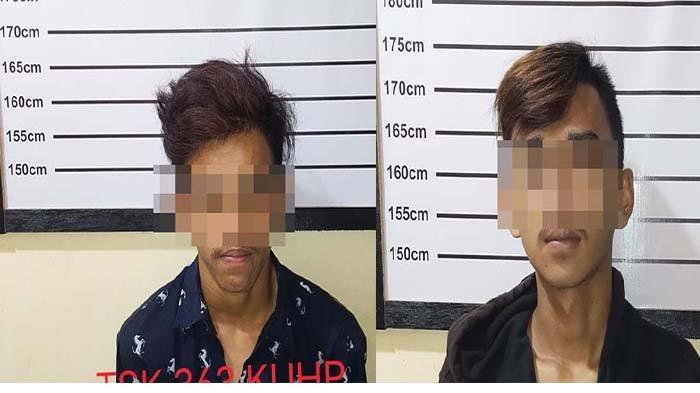 Terekam CCTV Saat Mencuri Sepeda Lipat, Dua Pemuda Pengangguran Diciduk Polisi