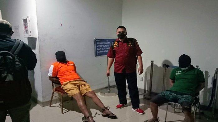 Dua WBP Narkotika Dipindah ke LP Nusa Kambangan