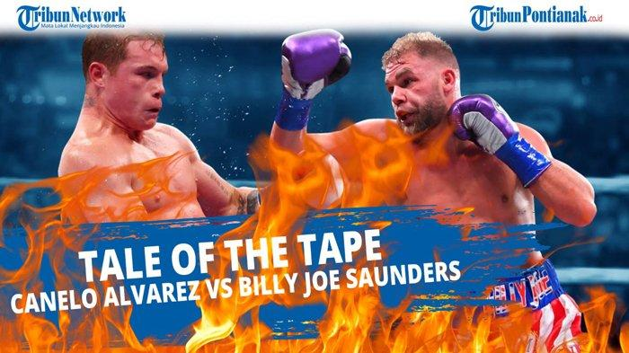 LIVE STREAMING Tinju Dunia Sekarang Canelo Alvarez vs Billy Joe Saunders & Update Hasil