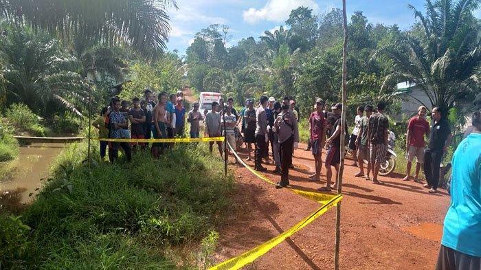 BREAKING NEWS - Pembunuhan di Simpang Hulu Ketapang, Teriakan Anak Korban Bangunkan Warga