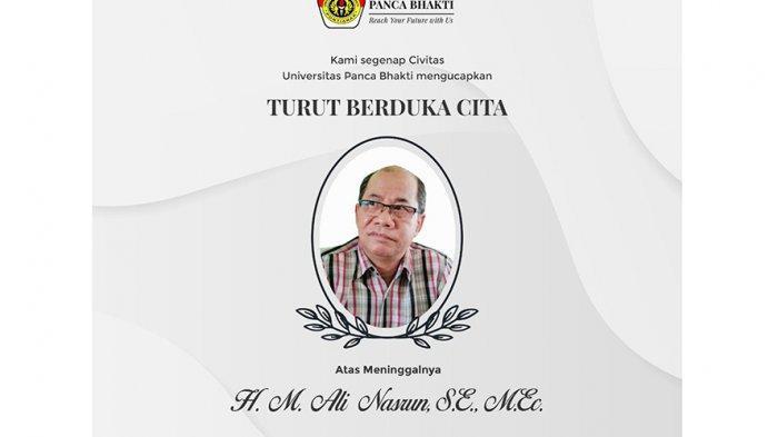 Civitas Akademika UPB Pontianak Turut Berdukacita atas Wafatnya Pengamat Ekonomi Kalbar Ali Nasrun