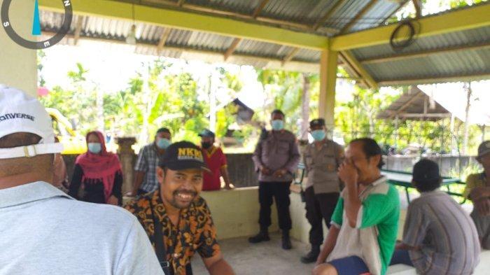 Peduli kepada Warga Binaan, Personel Polsek Singkawang Timur Lakukan Sambang Duka