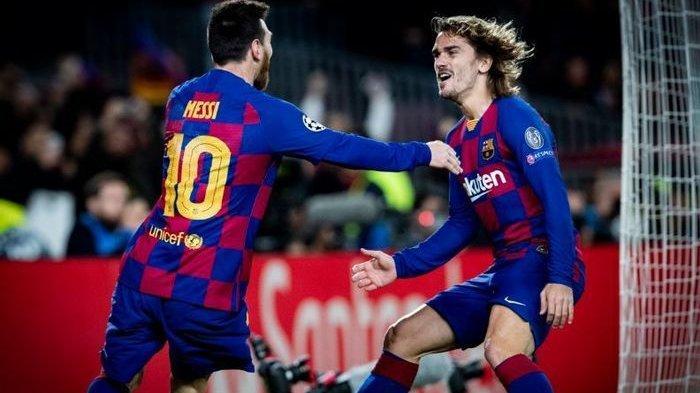 Rekor Lionel Messi dan Antoine Griezmann Setelah Barcelona Lolos ke Babak 16 Besar UCL
