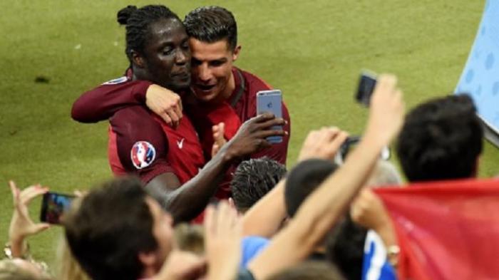 Ronaldo Beri Petuah ke Eder Sebelum Masuk ke Lapangan