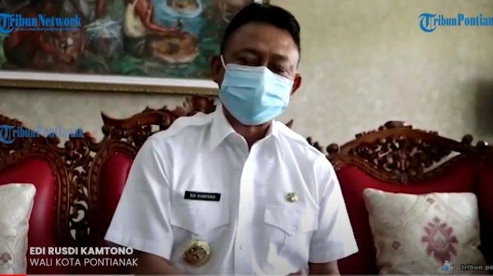 Kasus Covid-19 di Pontianak Turun 25 Persen, Berikut Penjelasan Wali Kota Edi Kamtono
