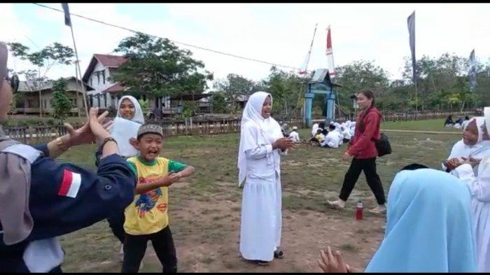 Aksi Peduli Komunitas BPK di Tengah Pandemi, Bantu dan Edukasi Siswa di Desa Retok Kubu Raya
