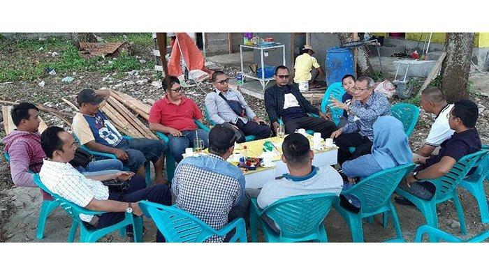 Anggota DPRD Kalbar Edy R Yacoub Silaturahmi ke DPD Golkar Singkawang