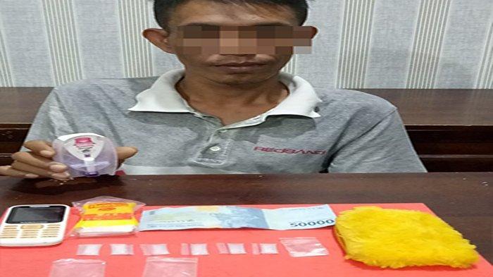 Polres Mempawah Berhasil Bekuk Penjual Narkoba di Mempawah Hilir
