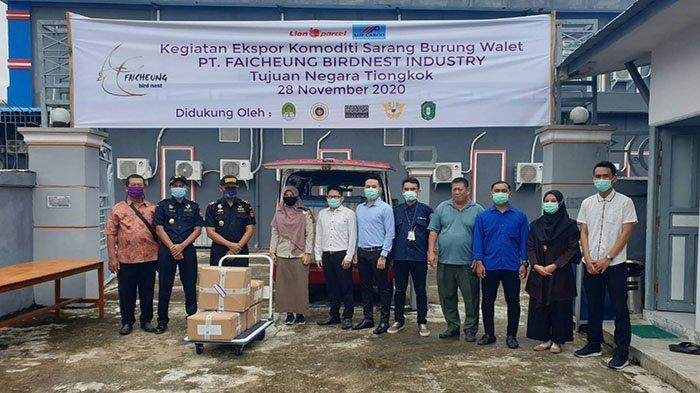 PT Faicheung Birdnest Industry Kembali Ekspor Sarang Burung Walet ke Tiongkok, Sudah 7 Kali Ekspor