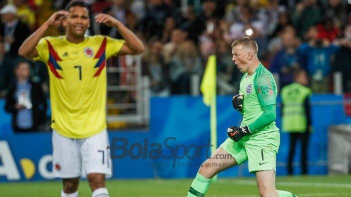 Kolombia vs Inggris Catat Rekor Baru, Falcao Kritik Kinerja Wasit