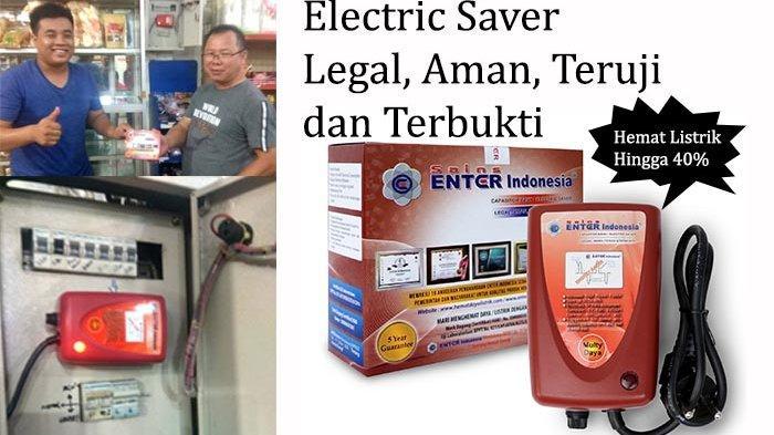 Electric Saver Merk ENTER Indonesia, Solusi Alat Penghemat Daya Listrik Hingga 40 Persen