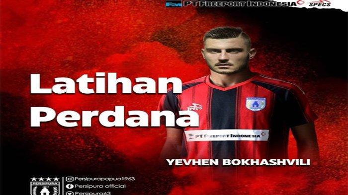 Daftar Skuad Persipura Jayapura Jelang Liga 1 Indonesia Musim 2021-2022, Yevgen Bokhashvili Termahal