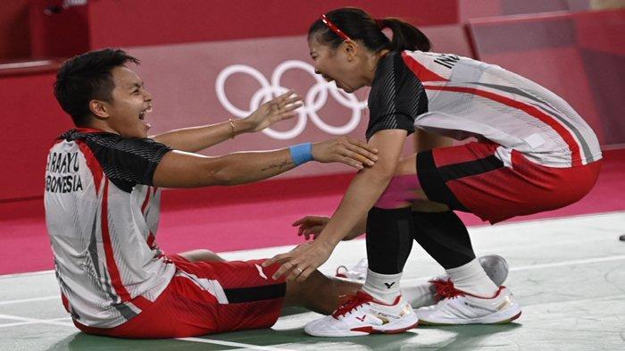 Greysia Polii / Apriyani Rahayu Bawa Indonesia Top se-Asia Tenggara Perolehan Medali Olimpiade Tokyo