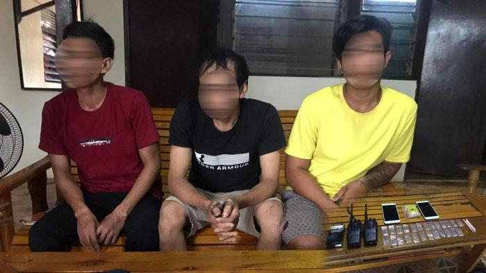 Sehari Polsek Sandai Amankan 4 Tersangka Narkotika dan 27 Kantong Klip Berisi Serbuk Putih