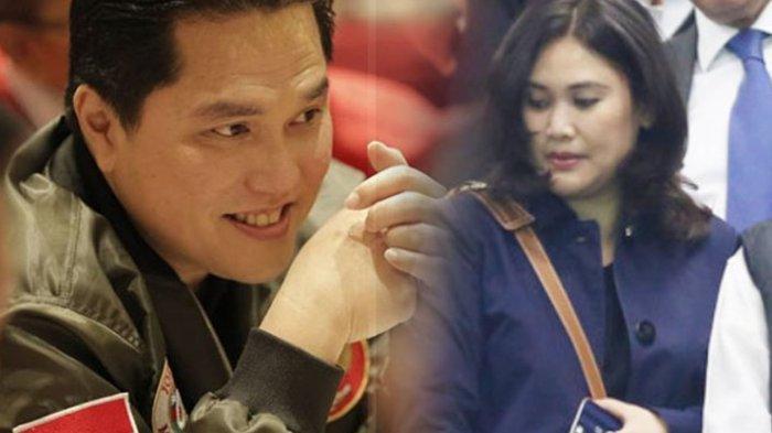 Erick Thohir Calon Menteri Jokowi yang Populer di Kancah Olahraga, Siapa Sangka Punya Istri Cantik