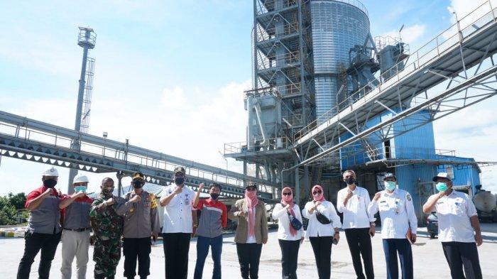Bupati Erlina Kunjungan Kerja ke Tiga Perusahaan di Wajok Hulu Mempawah