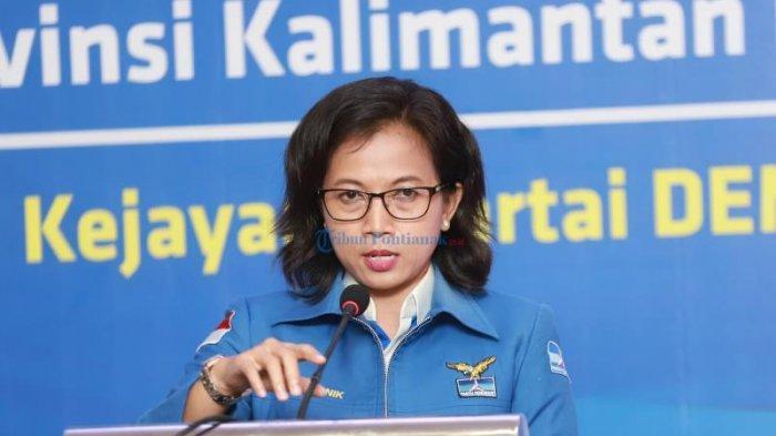 Erma Ajak Kader Kompak Menangkan Bapaslon Pilihan DPP Demokrat