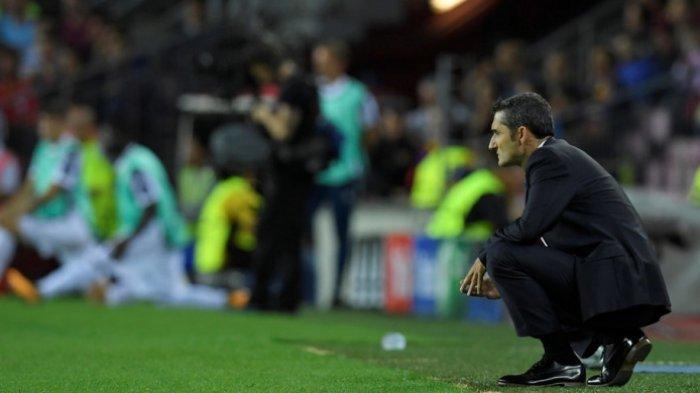 LIVE STREAMING Olympiacos Vs FC Barcelona, Laga yang Mengaduk Emosi Valverde