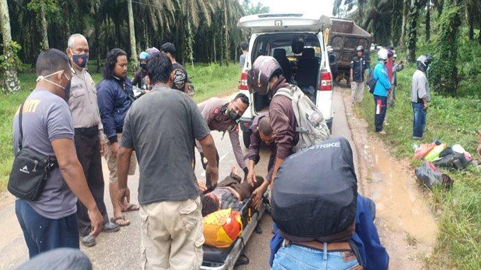 Seorang Bayi Selamat dari Kecelakaan Maut yang Renggut Lima Nyawa di Semuntai Sanggau