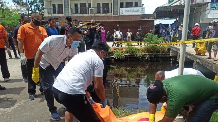 Mayat Wanita Mengapung di Aliran Sungai Raya Dalam, Polisi Beberkan Identitas dan Kronologinya