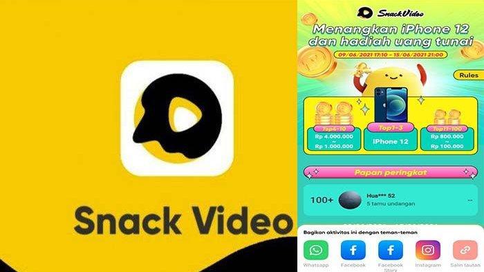 Dapatkan iPhone 12 dari Snack Video, Ikuti 3 Event  Baru Raih Uang hingga Jutaan Rupiah