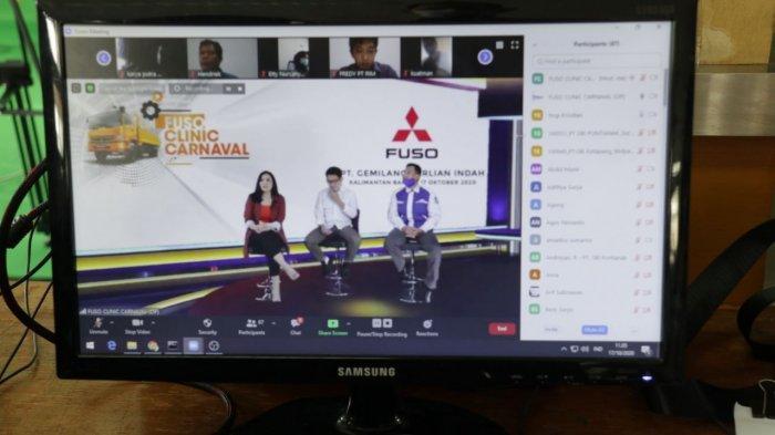 Fuso Clinic Carnaval Hadir Menjawab Kebutuhan Konsumen Mitsubishi Fuso di Kalbar