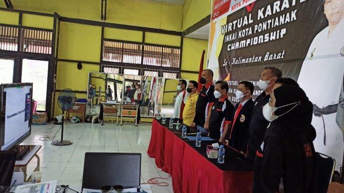 INKAI Kota Pontianak Gelar Kejuaraan Virtual Karate Championship se-Kalbar