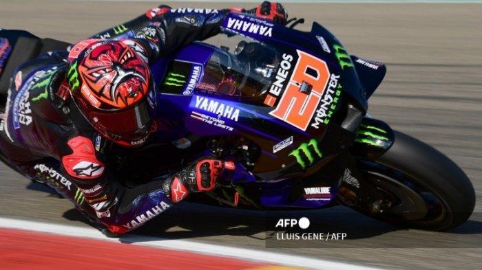 FABIO Quartararo Rebut Pole Position MotoGP Hari Ini ? Valentino Rossi Tak Masuk Q2 GP Aragon 2021