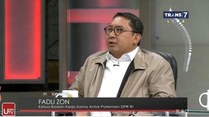 Fadli Zon Jawab Najwa Shihab saat Tanya Sikap Menhan Prabowo Soal Konflik Natuna Indonesia Vs China