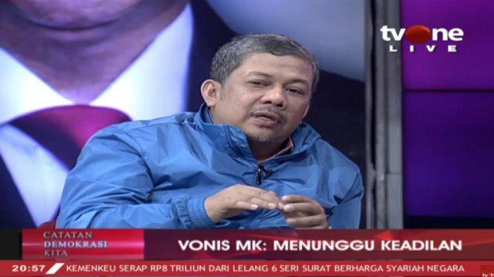 Fahri Hamzah Komentari 100 Hari Pemerintahan Jokowi & Maruf Amin : Pak Jokowi Kurang Teman Berpikir