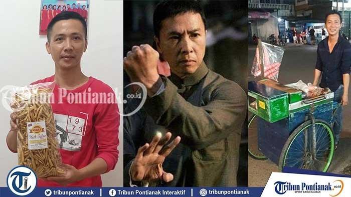 FAKTA IP Man Singkawang! Disebut Mirip Donnie Yen, Penjual Es Keliling hingga Produksi Camilan Talas