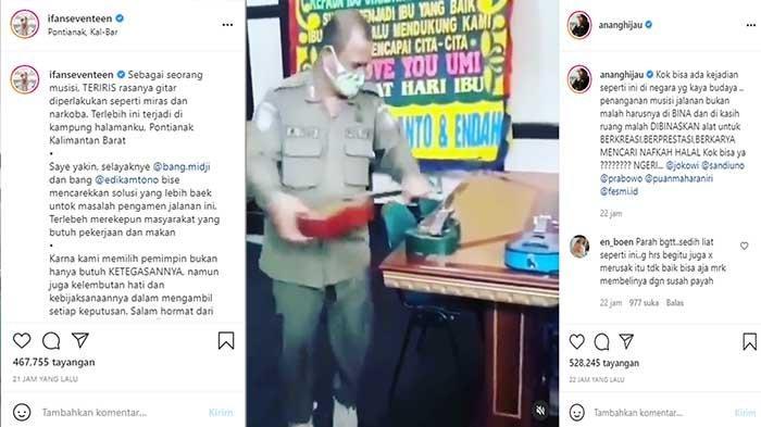 FAKTA Satpol PP Rusak Ukulele Pengamen - Suara Anang Hermansyah, Ifan Seventeen Colek Midji dan Edi